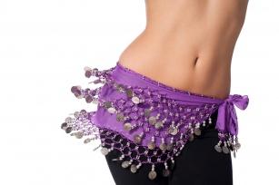 Chcesz mieć płaski brzuch? Taniec brzucha ci w tym pomoże.