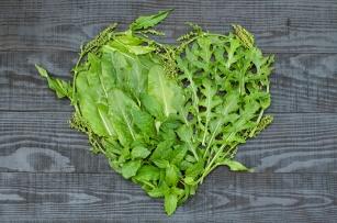 Sałata, szpinak, szczaw! Grajmy w zdrowie zielonymi warzywami!