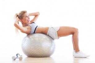 Bądź na topie z piłką fitness!