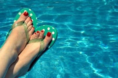 Grzybica - uważaj na nią na basenie!