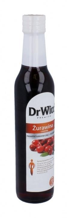 Dr Witt Syrop Żurawina z acerolą