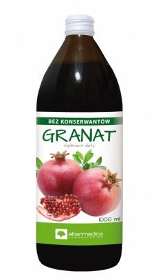 Granat sok