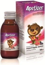 Apetizer, syrop o smaku malinowo- porzeczkowym, 100 ml