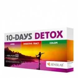Sensilab 10 Days Detox suplementy diety