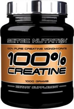 SCITEC - 100% CREATINE Monohydrat - 1000 g