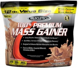 MUSCLE TECH - 100 % Premium Mass Gainer - 5440 g