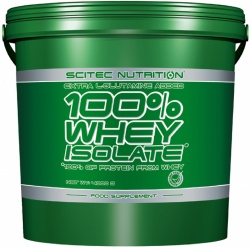 SCITEC - 100% WHEY ISOLATE - 4000 g
