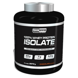 PREMIUM NUTRITION - 100% Whey Protein Isolate - 2270g