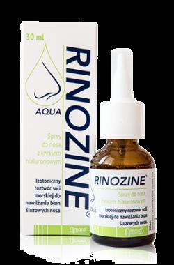 Rinozine Aqua z kwasem hialuronowym