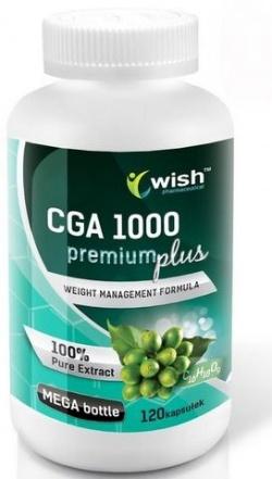 CGA 1000mg Zielona Kawa 100 szt