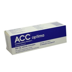 ACC optima 600mg tabletki musujące