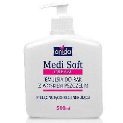 Anida Medi Soft emulsja do rąk z woskiem pszczelim