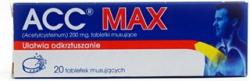 ACC Max 200mg tabletki musujace