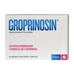 Groprinosin tabletki