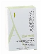A-Derma - Kostka dermatologiczna na bazie wyciągu z owsa Rhealba, 100 g
