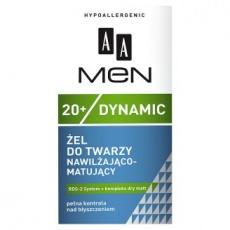 AA Men Dynamic żel nawilżająco-matujący