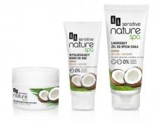 AA Sensitive Naturalne Spa krem do rąk wygładzający kokos