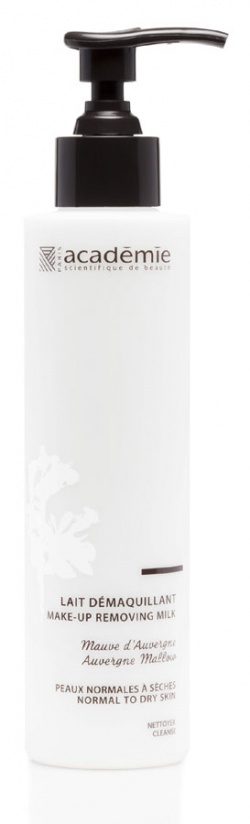 Academie Aroma to delikatne i łagodne mleczko do oczyszczania twarzy i demakijażu