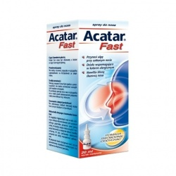 Acatar Fast, spray do nosa, 20 ml