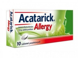 Acatarick Allergy, 10 mg, 10 tabletek