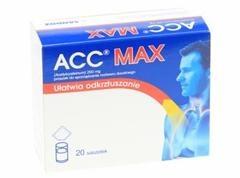 ACC Max, 200 mg, proszek do sporządzania roztworu doustnego, 20 saszetek (import równoległy)
