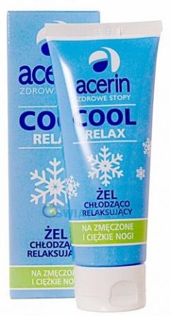 Acerin Cool Relax, żel chłodzący, Zdrowe Stopy, 150 ml