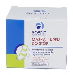 Acerin Zdrowe Stopy, maska-krem do stóp, 100 ml