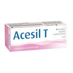 Acesil T, żel wspomagający leczenie blizn, 10 g