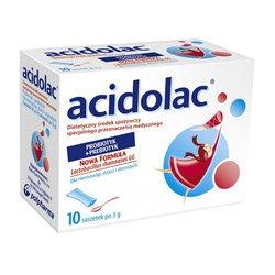Acidolac, liofilizat doustny, 3 g, 10 saszetek