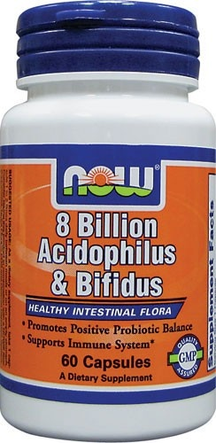 8 Billion Acidophilus & Bifidus, 120 kapsułek