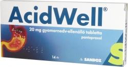 Acidwell, tabletki, 14 sztuk w blistrach