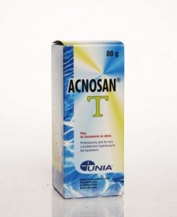 Acnosan T, płyn, do stosowania na skórę, 80 g