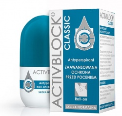 Activblock Classic, antyperspirant, roll-on, 25 ml