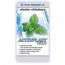 ACTIVPLAST COLD plaster chłodzący 1szt, 5cm x12cm