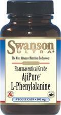 AjiPure L-fenyloalanina 500mg (60 kps)