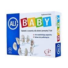 Ali-Baby, tabletki z czosnku wzmacniające dla dzieci, 30 szt