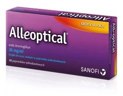 Alleoptical, krople do oczu, 10 jednodawkowych pojemników