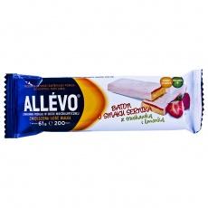 Allevo- baton o smaku sernika z truskawką i limonką