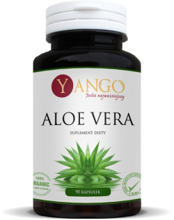 Yango Aloe Vera, 90 kapsułek