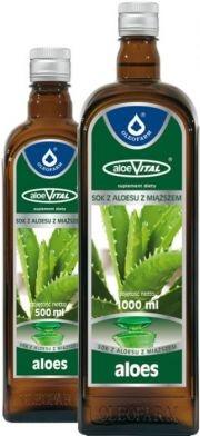 AloeVital, sok z aloesu z miąższem (Oleofarm), 500 ml