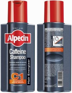 Alpecin C1, szampon kofeinowy, 200 ml