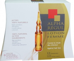 Alpharegul Lotion dla kobiet 12 ampułek po 5 ml