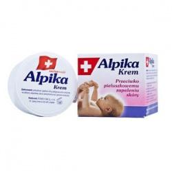 Alpika, krem przeciw pieluszkowemu zapaleniu skóry, 60 g