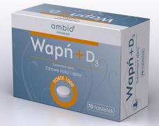 Ambio Wapń+D3 Forte 1000
