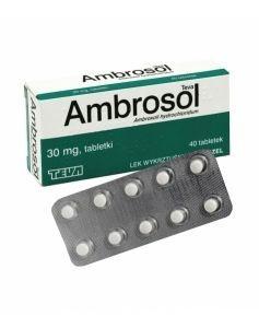 Ambrosol Teva 30 mg x 40 tabl
