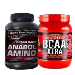 HI TEC - AMINO ANABOL + BCAA Xtra - 200kaps + 800g