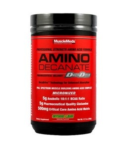 MUSCLE MEDS RX - Amino Decanate - 360g