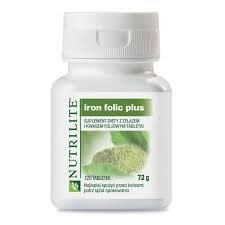 AMWAY NUTRILITE Iron Folic Plus, 120tabletek