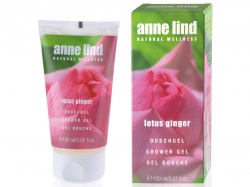 Anne Lind - Naturalny żel pod prysznic Lotus ginger - 150