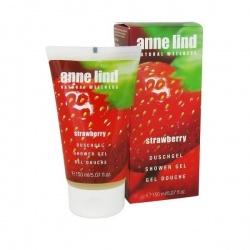 Naturalny żel pod prysznic Anne Lind Strawberry - 150 ml